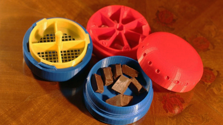 3D printed pillcoater prototype