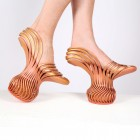 High Art Walks on Air with Neta Soreq's 3D Printed Shoe Designs