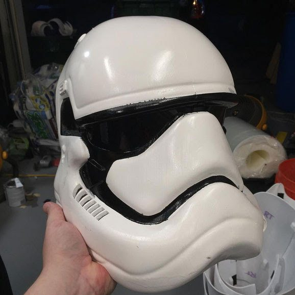 3D Printed Stormtrooper Costume