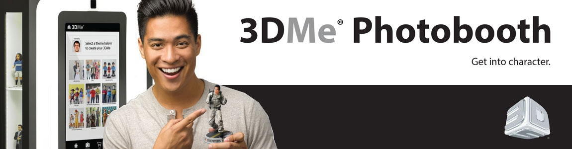 3dme photobooth for 3D scanning 3D printing collectibles from 3D Systems