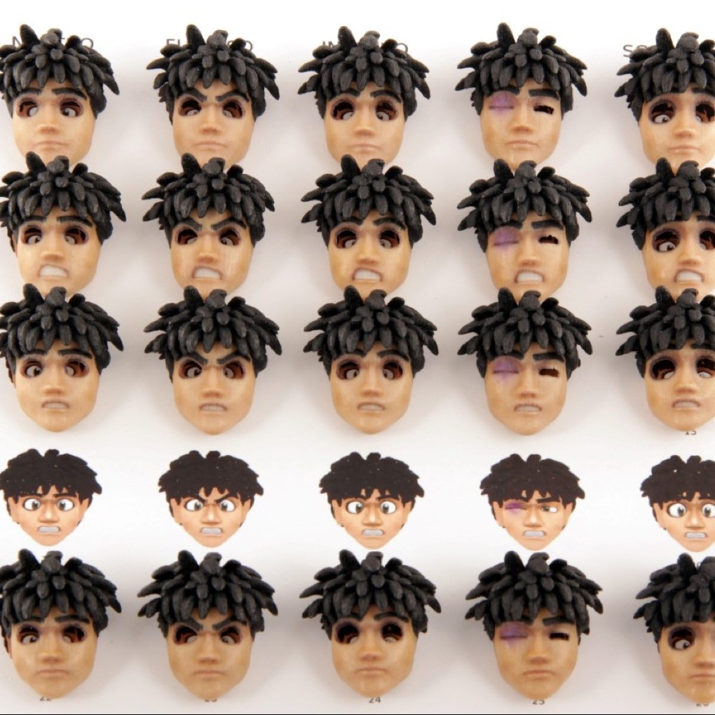 Protocube Simplifies 3D Printing of Facesets for Stop Animation With 7-Steps Workflow