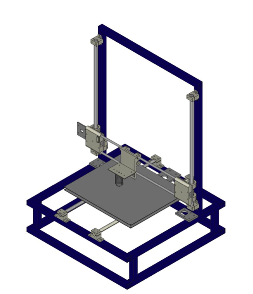CAD for retr3d e-waste 3D printer