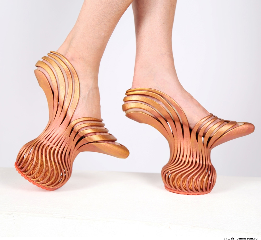 Neta Soreq 3D printed energetic pass shoe