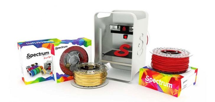 Poland's Specturm 3D printing filaments