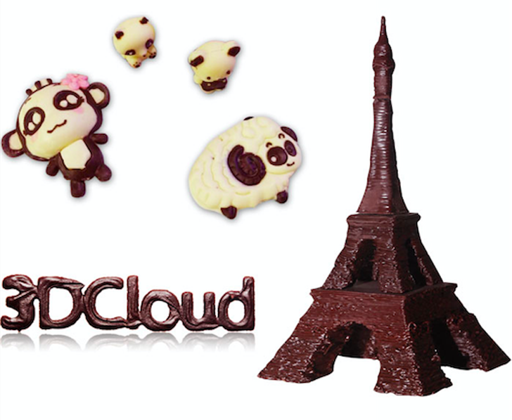 QIao chocolate 3D printer