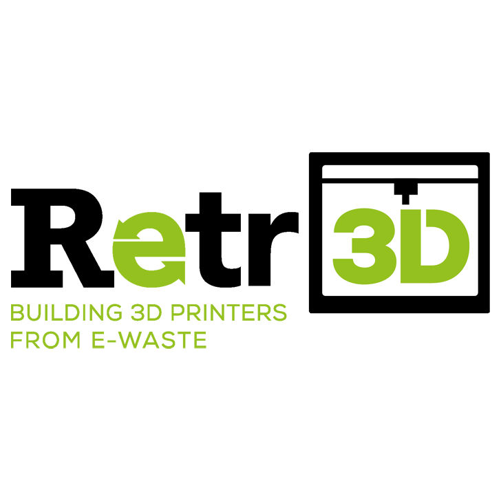 Retr3d software for e-waste 3D printer configurations