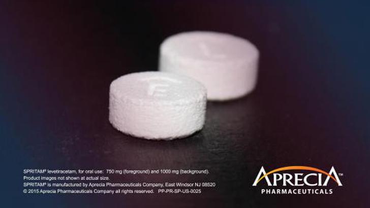 SPRITAM levetiracetam 3D printed drug from aprecia's zip dose