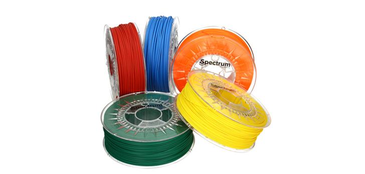 Spectrum 3D printing Filaments 01