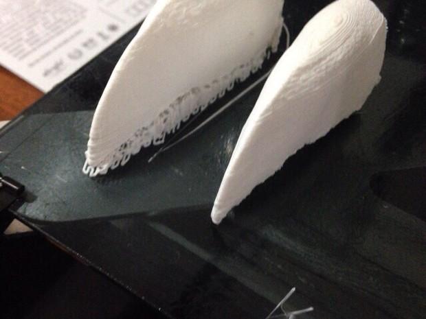 TuPaul 3D printed toucan beak pairs