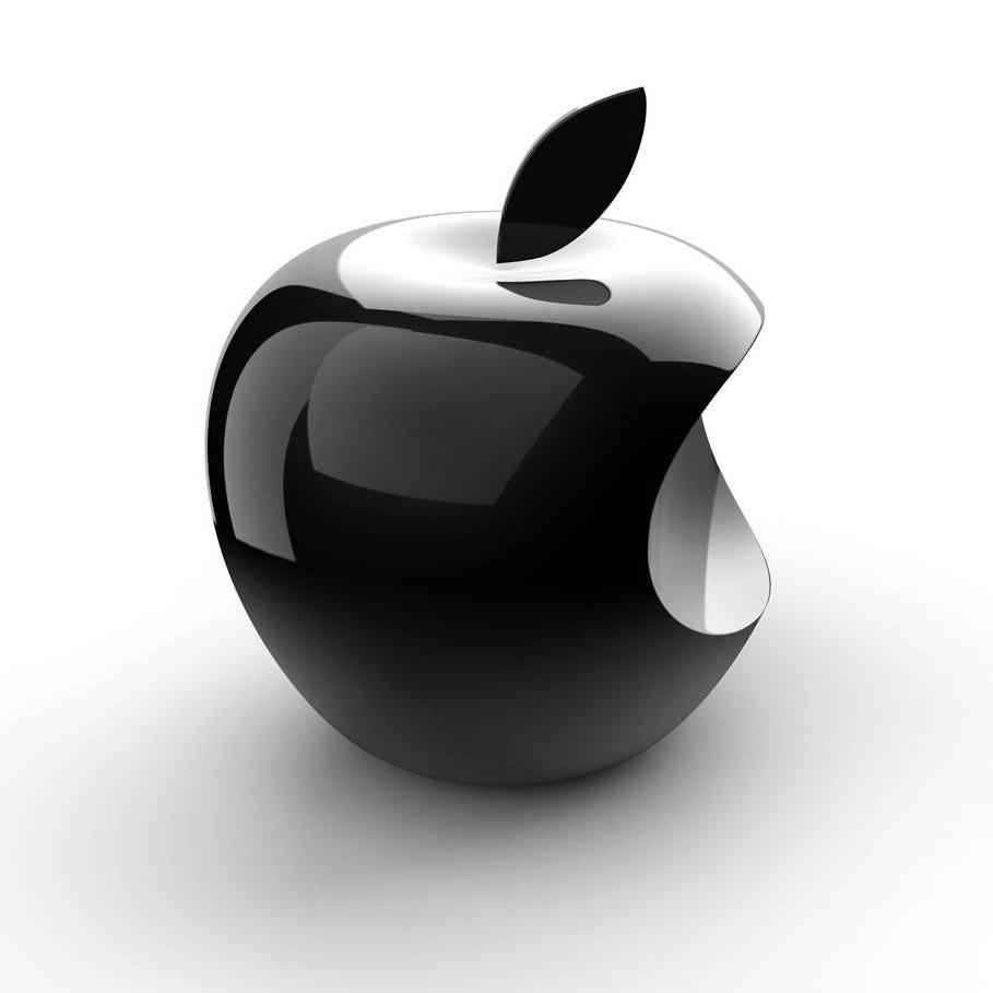 3d苹果logo设计图