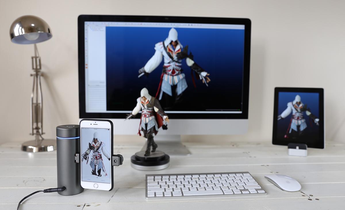 iphone lasers eora 3d scanner 3d printing industry. Black Bedroom Furniture Sets. Home Design Ideas