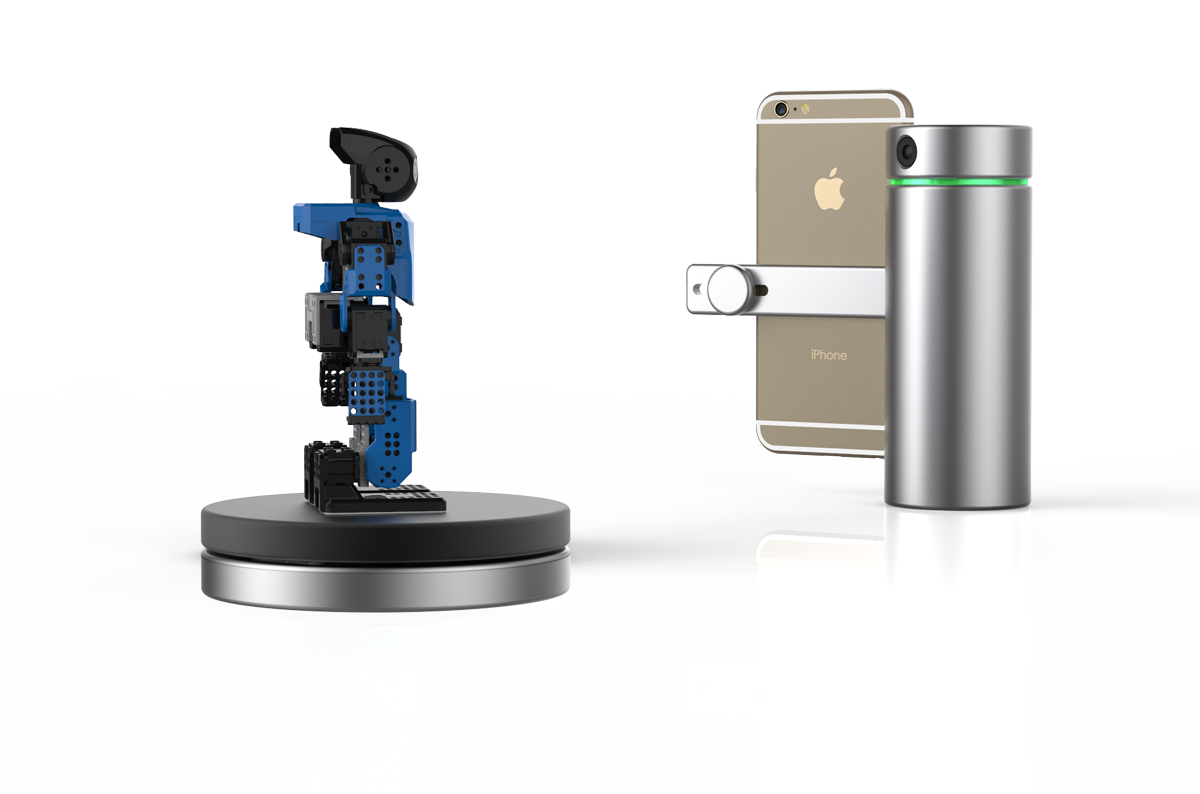 eora 3D scanner with turntable