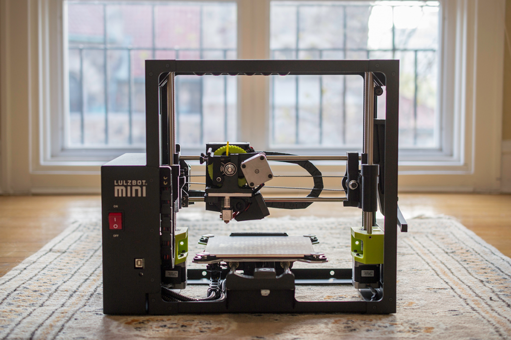 lulzbot mini 3D printer review 3D printing industry
