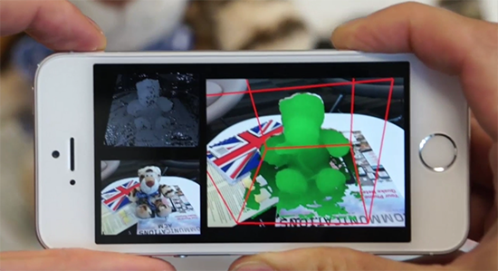 microsoft mobilefusion 3D scanning app for 3D printing