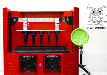 morpheus 3D printer from owl works