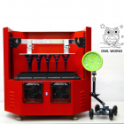 Owl Works Hits Kickstarter with Cutting-Edge Morpheus LIPS 3D Printer