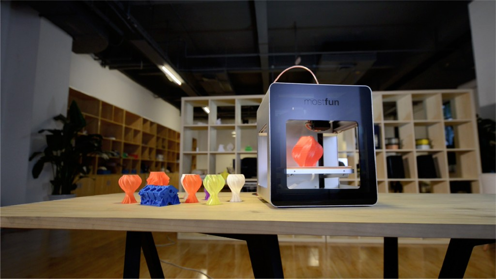 mostfun pro 3D printer with intel processor
