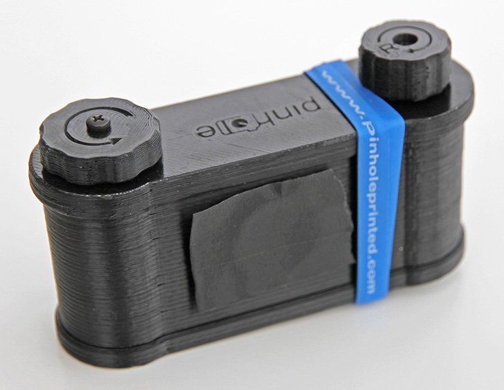 pinhole printed 3D printed easy 45 camera by clint o'connor