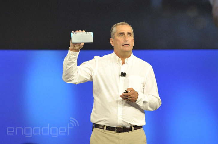 project tango 3D sensing smartphone with Intel RealSense camera 3D printing announced
