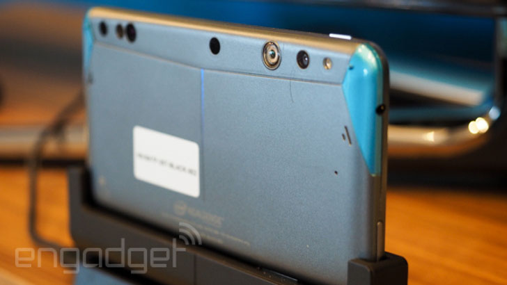project tango 3D sensing smartphone with Intel RealSense camera 3D printing industry