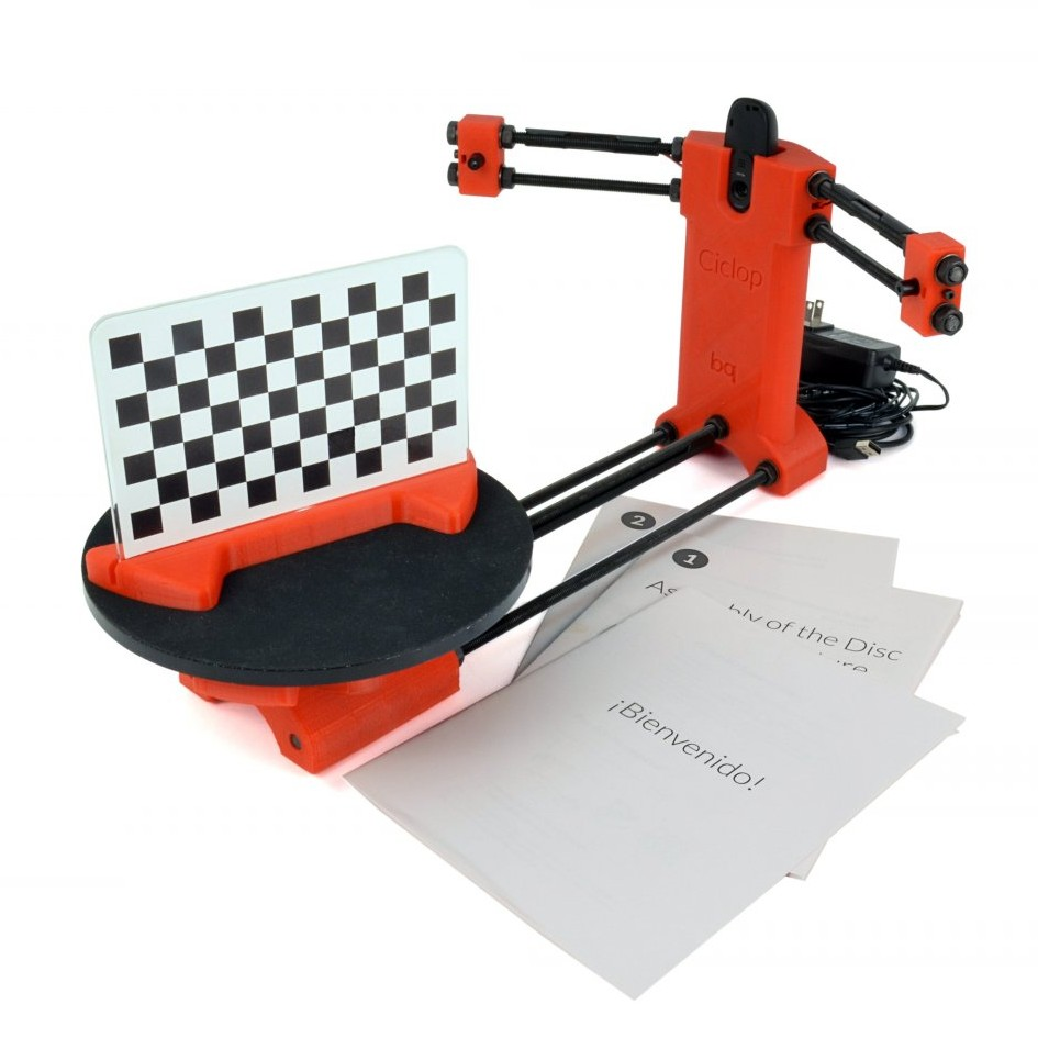 LulzBot Brings Open Source 3D Scanning to the US with BQ Deal