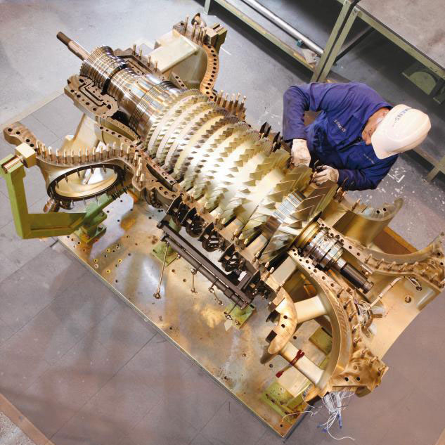 siemens gas turbine to use 3D printing