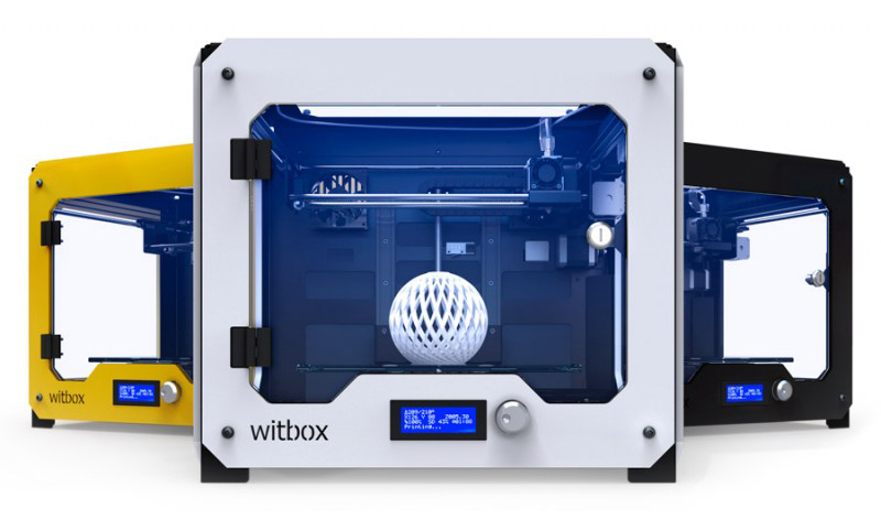 witbox 3D printer top 10 under $2,500