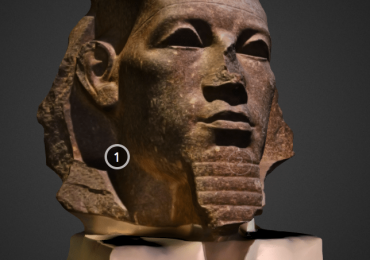 3D printable amenemhat III copy