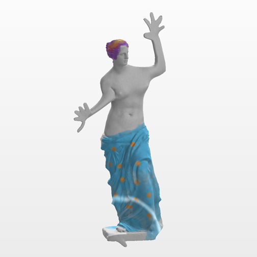 3D printable remix of Venus di Milo