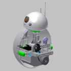 The Force Awakens an Open Source, 3D Printed BB-8 Droid