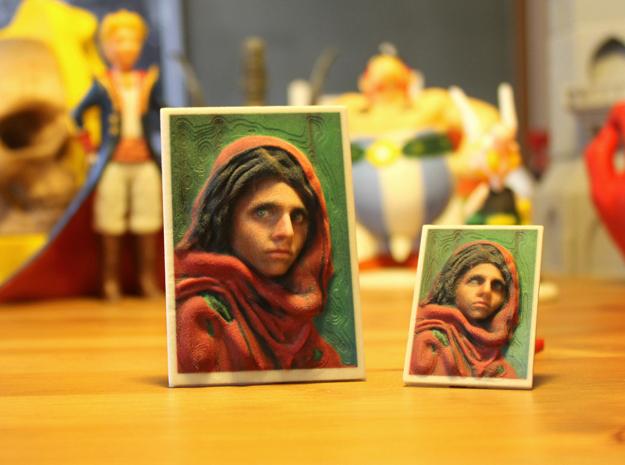 3d printing afghan girl