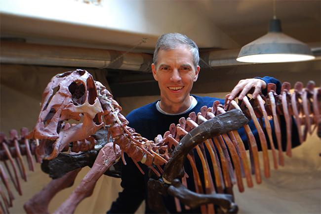 3dprinting hadrosaur