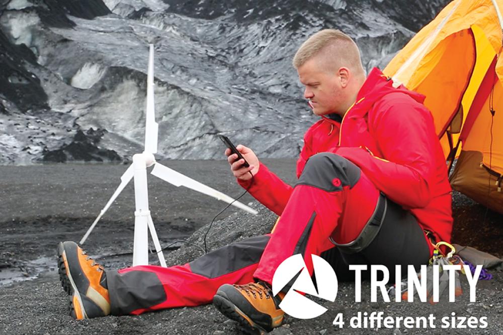 Portable Wind Turbine on Kickstarter - 3D Printing Industry