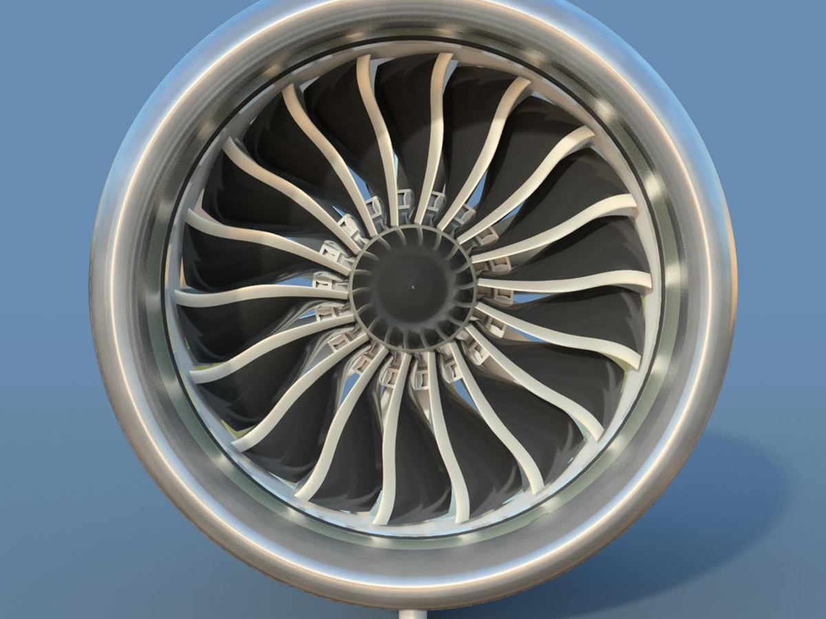 Maker 3d Prints Boeing 787 Engine 3d Printing Industry