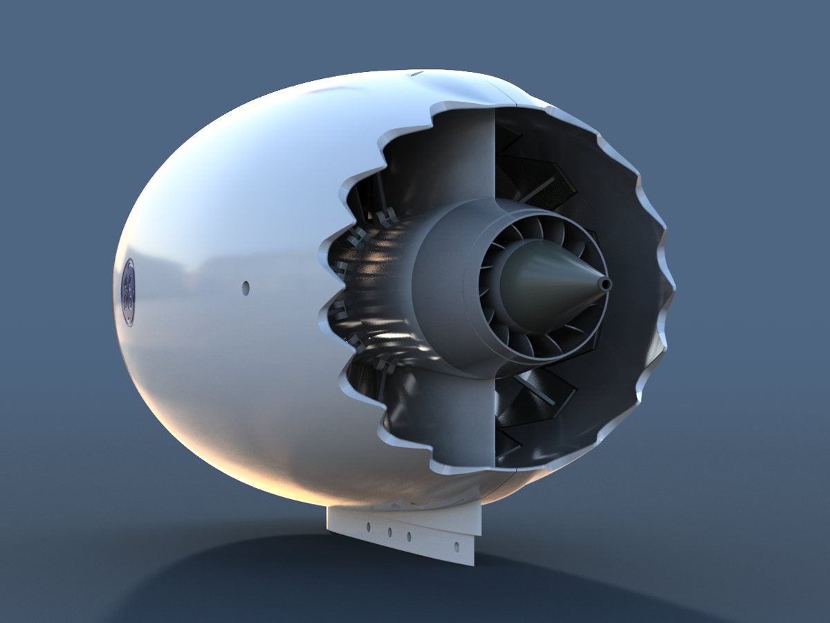Maker 3D Prints Boeing 787 Engine - 3D Printing Industry