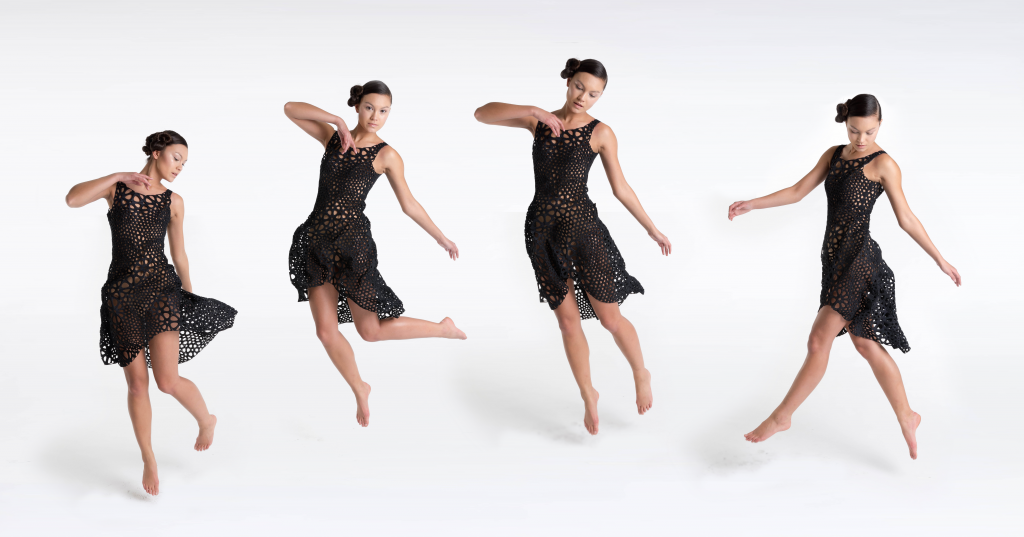 Kinematics Dress by Nervous System. Photo Courtesy of Nervous System