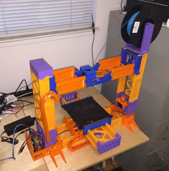 Snappy 3D printable RepRap 3D printer