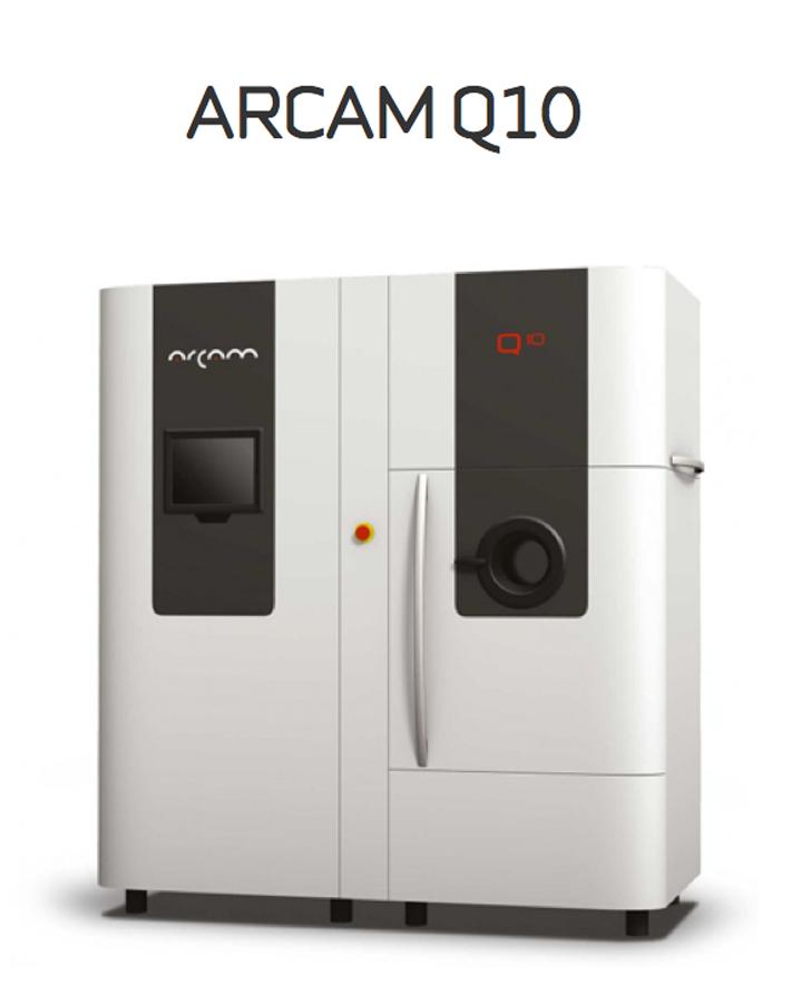 arcam q10 metal 3D printer