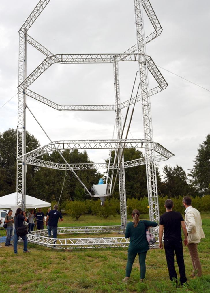big delta 3D printer from WASP