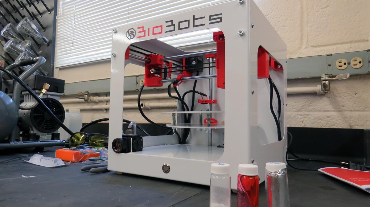 biobots 3D printer at university of denver via The 3D Printing Store for 3D printing industry