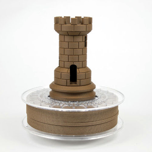 colorfabb corkfill 3D printing filament made of cork