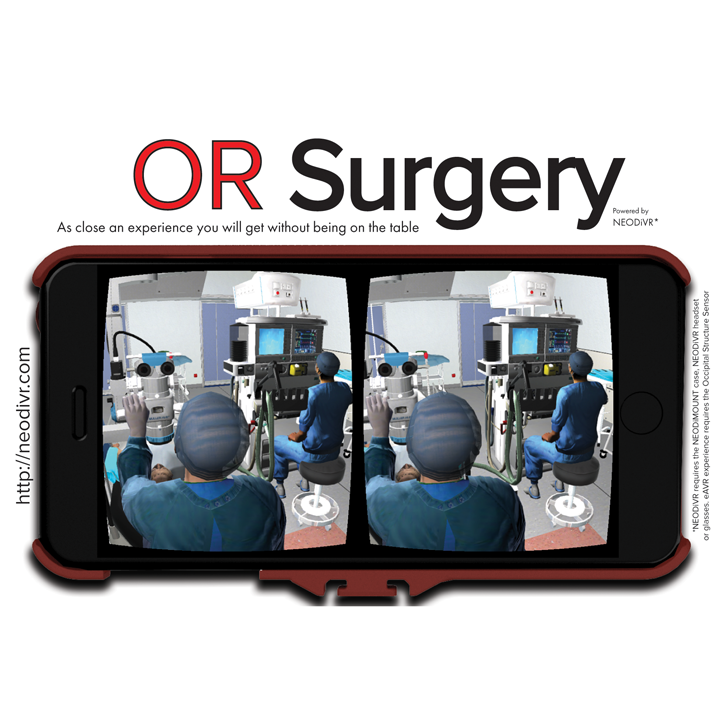 feature ORSurgery card for structure sensor 3D printing