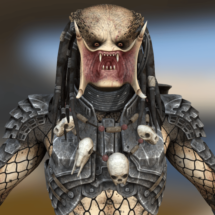 Free 3D Printable Of The Week: Predator