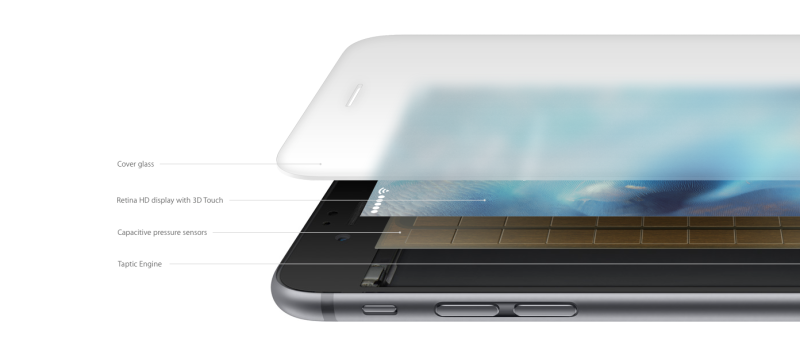 iPhone 6S 3D Touch for 3D Modeling