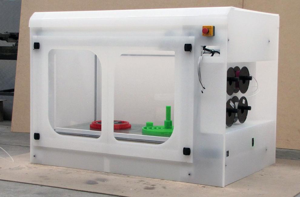 school 3D printer by jason simpson