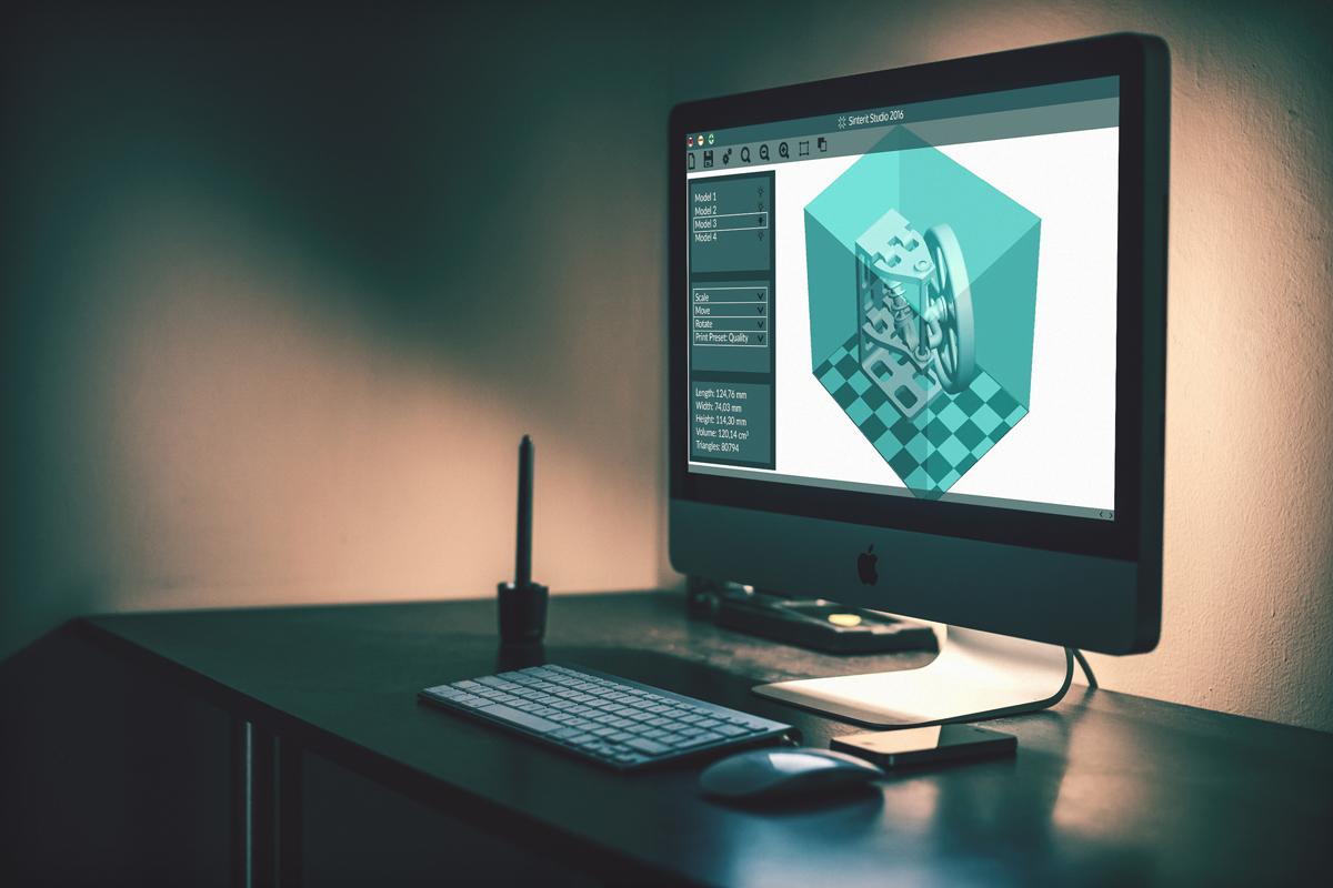 sinterit lisa sls 3D printer software