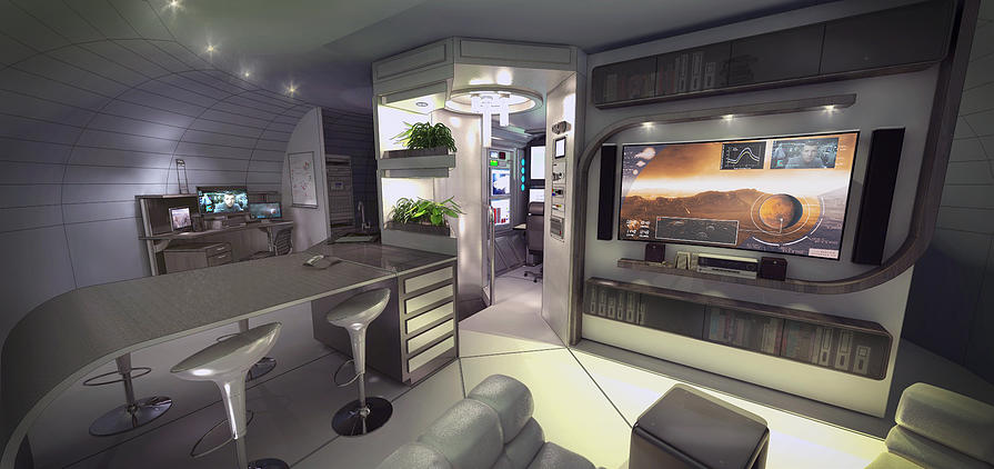 Solar Crafting 3d Printed Habitats On Mars 3d Printing Industry