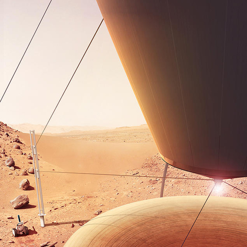 solar crafting 3D printing on mars