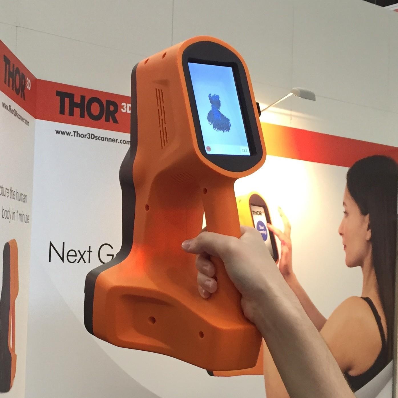 Live at Euromold: Thor Handheld 3D Scanner Challenges Artec EVA