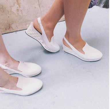 3D Printed Shoe - close up